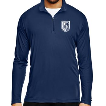 Team 365® Men's Zone Performance Quarter-Zip - Silkscreen Personalization Available