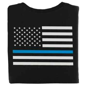 The Thin Blue Line 2-Sided T-Shirt - Personalization Available