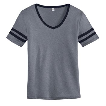 Women's Alternative Varsity Vintage 50/50 Tee