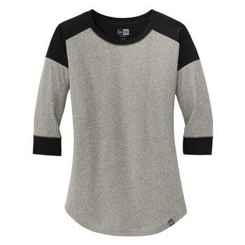 New Era® Heritage Blend 3/4-Sleeve Baseball Raglan Tee