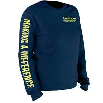 Making A Difference Long-Sleeve Recognition T-Shirt - Personalized