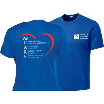 We Care Mens Sport-Tek® Competitor Short-Sleeve T-Shirt - Personalization Available