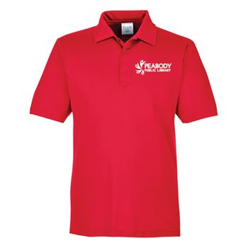 Team 365® Men's Zone Performance Polo - Silkscreen Personalization Available