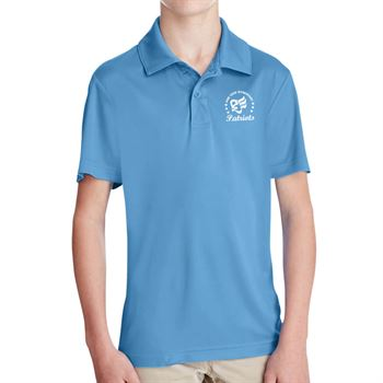 Team 365® Youth Zone Performance Polo - Silkscreen Personalization Available