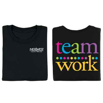 Teamwork 2-Sided T-Shirt - Personalization Available