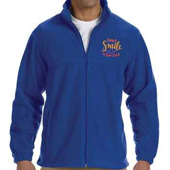 Customer Service Harriton® Men's Full Zip Fleece Jacket - Personalization Available