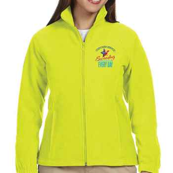 Customer Service Harriton® Women's Full Zip Fleece Jacket - Personalization Available