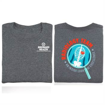 Radiology Team: An Inside Look At Excellence Two-Sided T-Shirt - Personalized