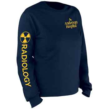 Radiology (Icon) Long-Sleeve 2-Location Recognition T-Shirt - Personalized