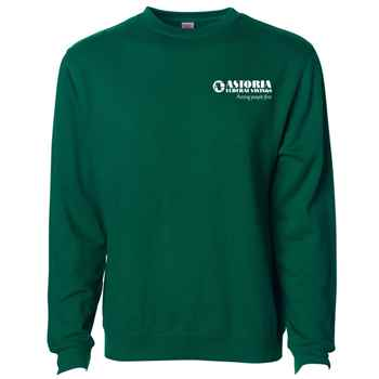 Independent Trading Co.® Midweight Crewneck Sweatshirt - Silkscreen Personalization Available