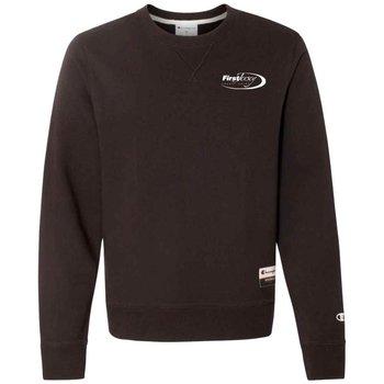 Champion® Originals Sueded Fleece Crew Sweatshirt - Silkscreen Personalization Available