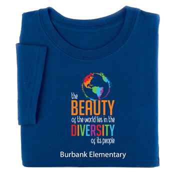 The Beauty Of The World Lies In The Diversity Of Its People Youth T-Shirt - Personalization Available