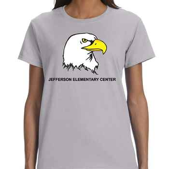 Women's Gildan® Heavy Cotton Short-Sleeve T-Shirt - Personalization Available