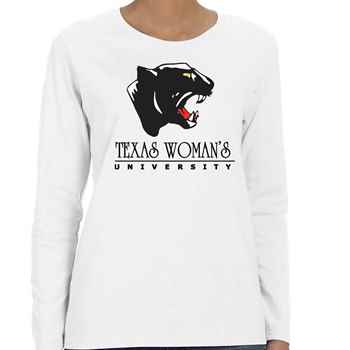 Women's Gildan® Heavy Cotton Long-Sleeve T-Shirt - Personalization Available