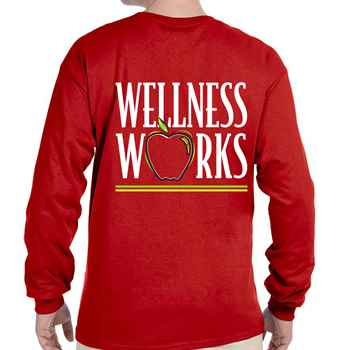 Wellness Works Positive 2-Sided Long-Sleeve T-Shirt - Personalized