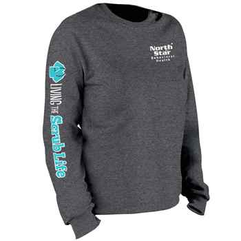 11637fc4c19 Living The Scrub Life Long Sleeve Recognition T-Shirt - Personalized ...