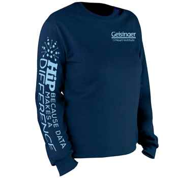 HIP: Because Data Makes A Difference Long-Sleeve 2-Location Recognition T-Shirt - Personalization Available