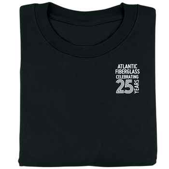 25th Anniversary Gildan® Heavy Cotton Short Sleeve T-Shirt - Personalization Available