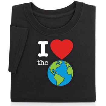 I (Heart) The Earth Youth T-Shirt With Personalization