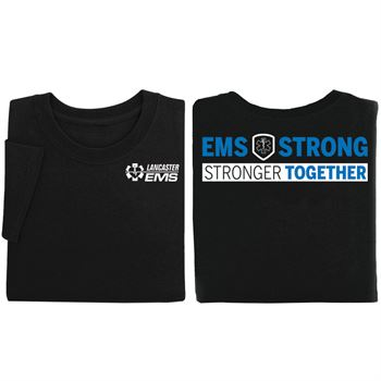 EMS Strong: Stronger Together Two-Sided T-Shirt - Personalized