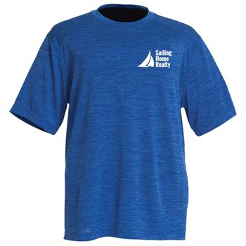 Charles River Apparel® Men's Space Dye Performance Tee - Personalization Available