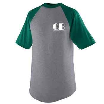 Augusta® Adult Short Sleeve Baseball Jersey T-Shirt - Personalization Available