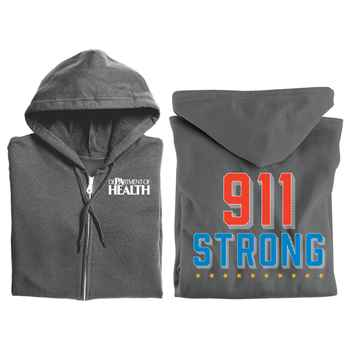 911 Strong Gildan® Full-Zip Hooded Sweatshirt - Personalized