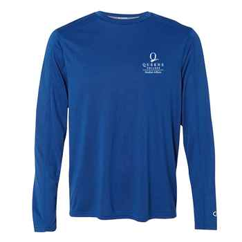 Champion® Vapor Performance Heather Long Sleeve T-Shirt - Personalization Available