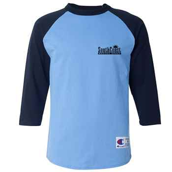 725eed7e Champion® Adult Raglan Baseball T-Shirt - Personalization Available |  Positive Promotions