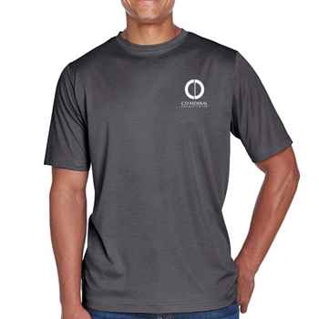 Team 365® Men's Crewneck Sonic Heather Performance T-Shirt - Personalization Available