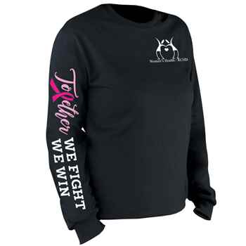 Together We Fight Together We Win Long-Sleeve 2-Location Awareness T-Shirt - Personalization Available
