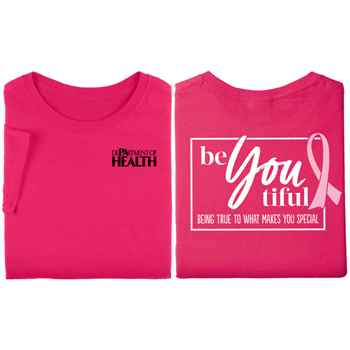 Be-You-tiful: Being True To What Makes You Special 2-Sided Awareness T-Shirt - Personalized