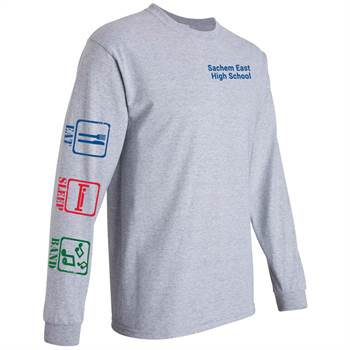 Eat, Sleep, Band  Long-Sleeve Recognition T-Shirt - Personalized