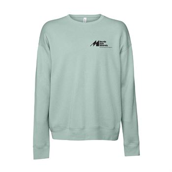 Bella + Canvas® Unisex Sponge Fleece Drop Shoulder Sweatshirt - Personalization Available