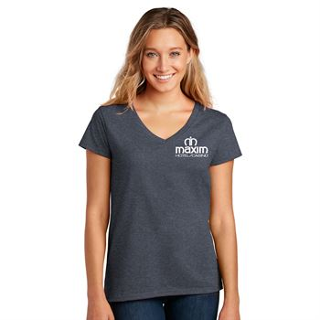 District® Women's Re-Tee™ V-Neck - Personalization Available