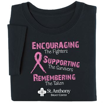 Encouraging The Fighters Awareness T-Shirt - Personalization Available