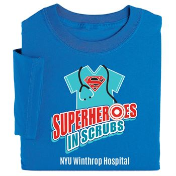 Superheroes In Scrubs T-Shirt - Personalization Available