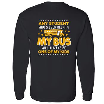 Any Student... Positive Long Sleeve T-Shirt - Personalization Available