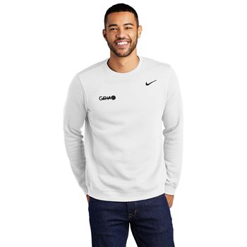 Nike Club Pullover Fleece Crewneck - Screenprint Personalization Available