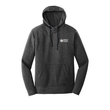 New Era® Men's Tri-Blend Fleece Pullover Hoodie - Screenprint Personalization Available