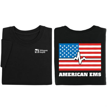 American EMS Two-Sided Short-Sleeve T-Shirt