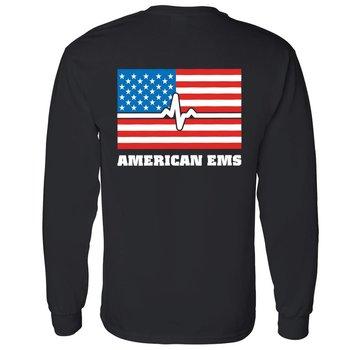 American EMS 2-Sided Long Sleeve T-Shirt
