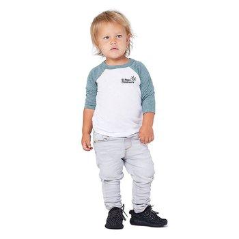 Bella Canvas Toddler 3/4 Sleeve Baseball T-Shirt - Personalization Available