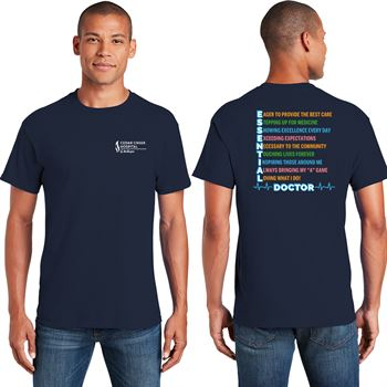 Essential Doctor Acrostic Positive 2-Sided T-Shirt