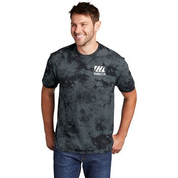 Port & Company® Unisex Crystal Tie-Dye Tee - Silkscreen Personalization Available