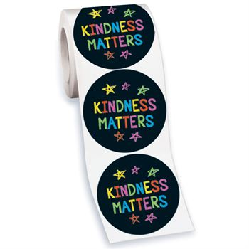 Kindness Matters Stickers-On-A-Roll - 200 Per Roll
