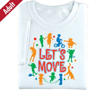 Let's Move Adult-Size T-Shirt