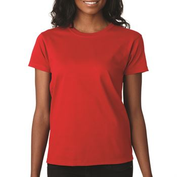 Women's Cut 100% Cotton T-Shirt