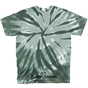 Adult Preshrunk 100% Heavyweight Cotton Tie-Dye Shirts - Personalization Available