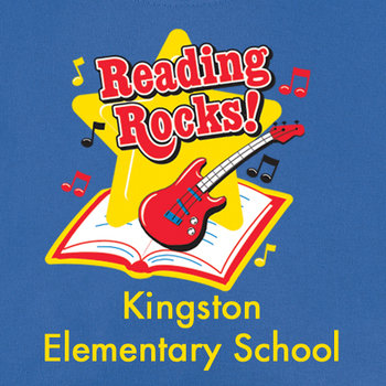 Reading Rocks! (Royal Blue) Youth T-Shirt - Personalization Available